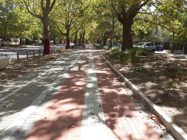 University Stellenbosch – Victoria Street Non Motorised Transport Facility.
